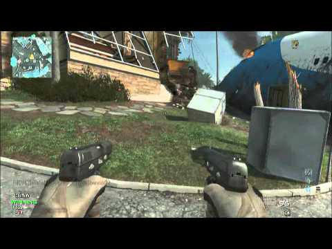 MW3 - Infected on Black Box (N.O.A.B) (Pistol Only) (Live Commentary)