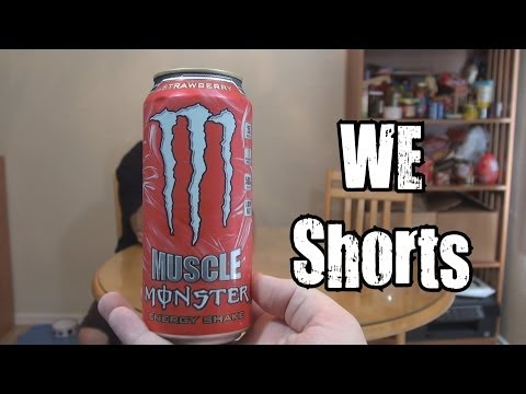 WE Shorts - Muscle Monster Strawberry