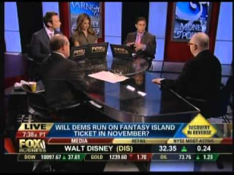 Bernard Whitman on Fox Business Calls for a Small Business Summit to Pressure Congress, 8.26.10