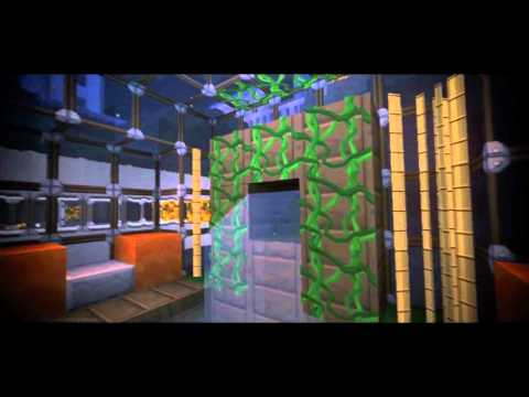 Minecraft Cinematic Underwater City [GLSL Shaders, Motion Blur...]