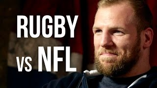 RUGBY vs NFL - James Haskell on Explaining Rugby To Americans