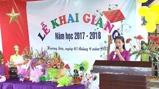 le khai giang truong mam non huong son nam hoc 2017 2018