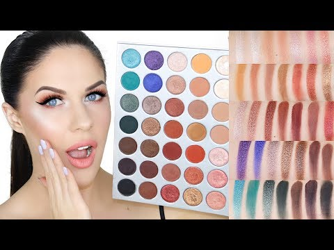 JACLYN HILL X MORPHE PALETTE!!   REVIEW. SWATCHES & DEMO!! IS IT WORTH THE HYPE?!