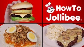 HOW TO MAKE JOLLIBEE - PALABOK 🍜🍔