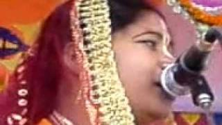Leela Kirtan-6 at Tajpur, Osmaninagar, Sylhet, Bangladesh (Singer- Meta Mondol, India).