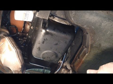 Ford Taurus 3.0L 12v Oil Pan Gasket Replacement