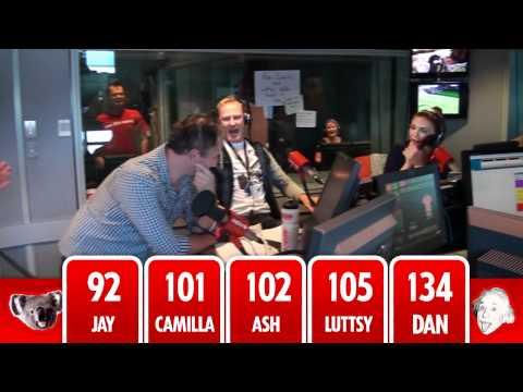 Ash, Camilla, Luttsy, Dan and Koala Jay's IQ test