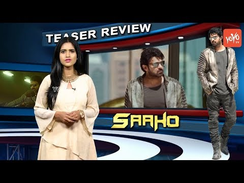 Saaho Teaser Reaction | Shades Of Saaho | Chapter 1 | Prabhas, Shraddha Kapoor | Abu Dhabi | YOYO TV