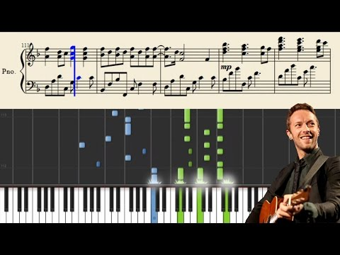 Coldplay - Christmas Lights - Advanced Piano Tutorial + Sheets
