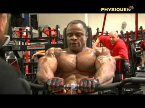 muscle men in Training 2 Video