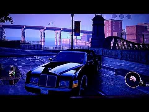 Saints Row The Third Custom Car Build/Drive - #1 Justice/Rolls Royce Phantom!!!