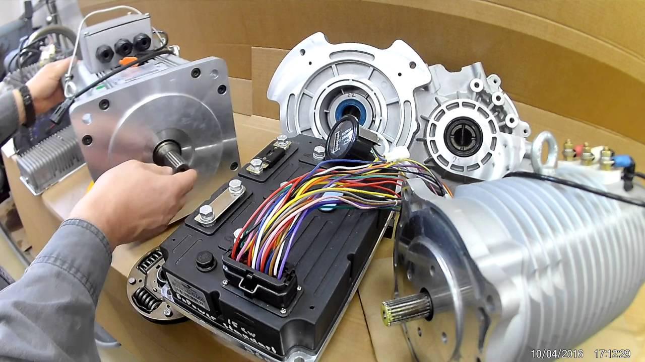 Тяговый электродвигатель для электромобиля своими руками 77