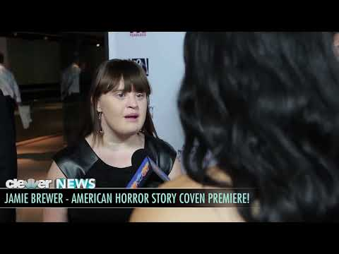 American Horror Story Coven Interviews! Emma Roberts, Evan Peters, Taissa Farmiga, Jessica Lange!