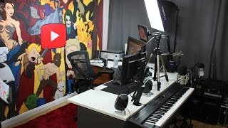 A Tour of 'Jazza Studios'!