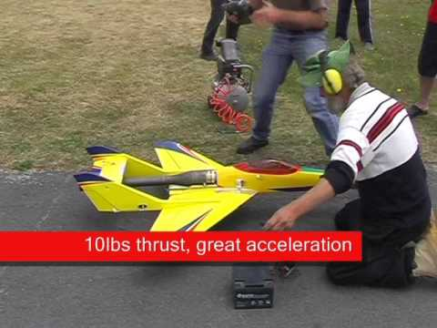 Pulsejet powered Bobcat 52 RC plane saga continues