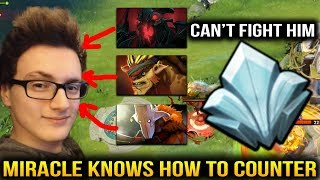 Miracle Morphling: He Knows HOW TO COUNTER All Heroes Dota 2