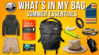 What's In My Bag Ep. 12 - Summer Essentials 2019