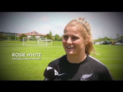 Football Ferns prep for PNG