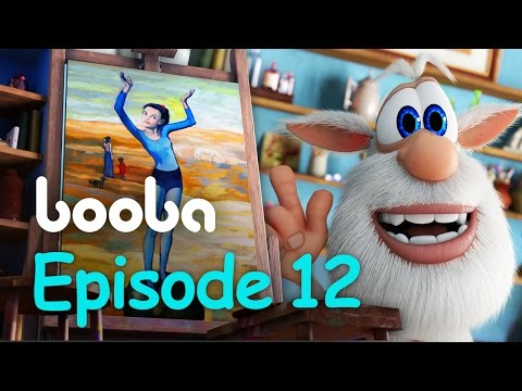 Booba Painting - Episode 12 - Funny cartoons for kids буба KEDOO Animations 4 kids thumbnail