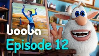 Booba Painting - Episode 12 - Funny cartoons for kids буба KEDOO Animations 4 kids