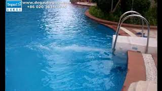 DF15 Pipeless Pool Filter Pool Project Video