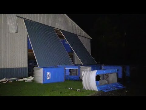 2014-06-29 Severe Thunderstorm Damage - Morrison, Iowa...