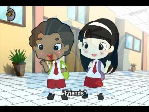 Animasi Media Pembelajaran Bahasa Inggris Untuk Kelas 1/sd 6 SD bab 1