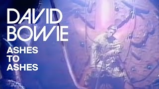 Watch David Bowie Ashes To Ashes video