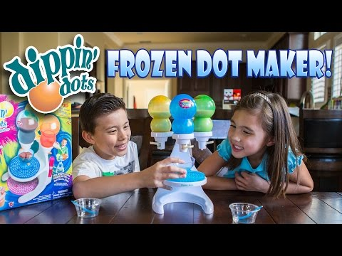 DIPPIN' DOTS Frozen Dot Maker with Pop Pens! FUN & FAILS!
