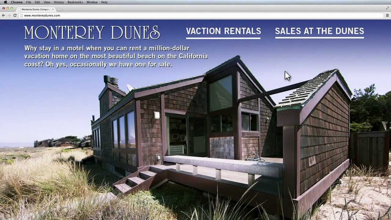 Monterey Dunes Vacation Rentals And Beachfront Homes For