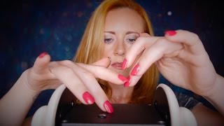 💜❤︎ Binaural ASMR Mic Triggers #2 - Scratching The Top ❤︎💜