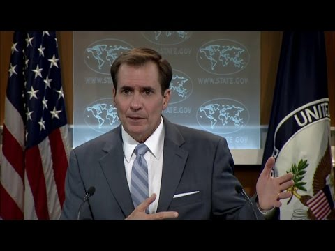 Daily Press Briefing - November 5, 2015