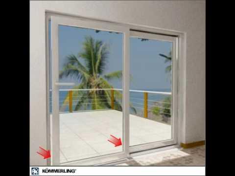 Puerta corredera oscilo youtube - Puertas de aluminio correderas ...