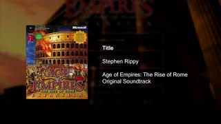 Age of Empires Soundtrack - Title