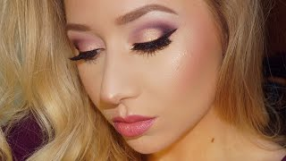 Plum Rose Gold Eyes | BH Cosmetics Carli Bybel Palette | The Beauty Vault