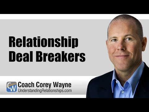 Relationship Deal Breakers