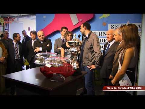 Alba Truffle fair 2013 - Premiazione del Tartufo Reale