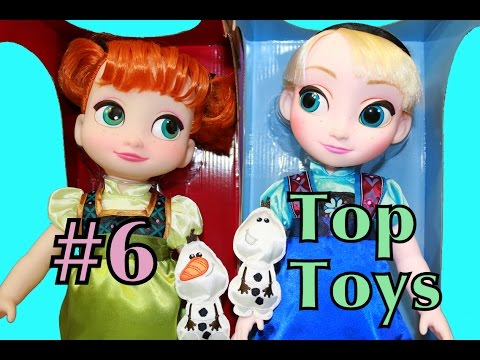 Frozen Elsa & Anna OLAF Animator's Collection Disney Store TOP Toys Young Frozen Toddler Dolls