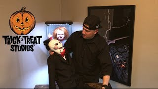 Unboxing My Trick Or Treat Studios Billy Saw Puppet