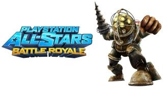 PlayStation All Stars Battle Royale walkthrough - part 1 Big Daddy Bioshock series Sugar Daddy