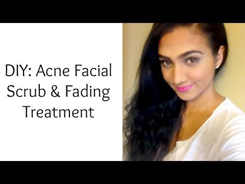 DIY: Acne Facial Scrub & Fading Treatment