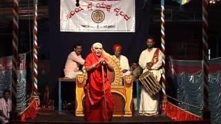 Yakshagana chithrapura kshethra mahathme Seetharam kateel as Ajji comedy talking with bhagavatharu