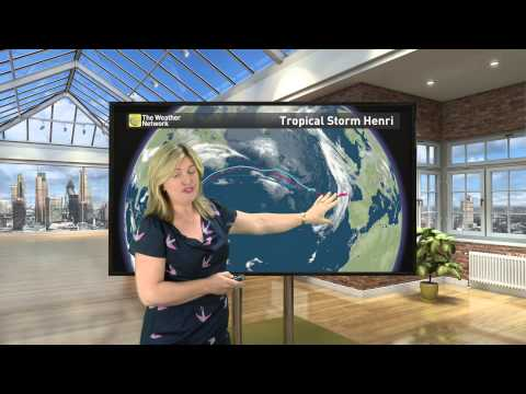 Will Tropical Storm Henri affect the UK's weather?