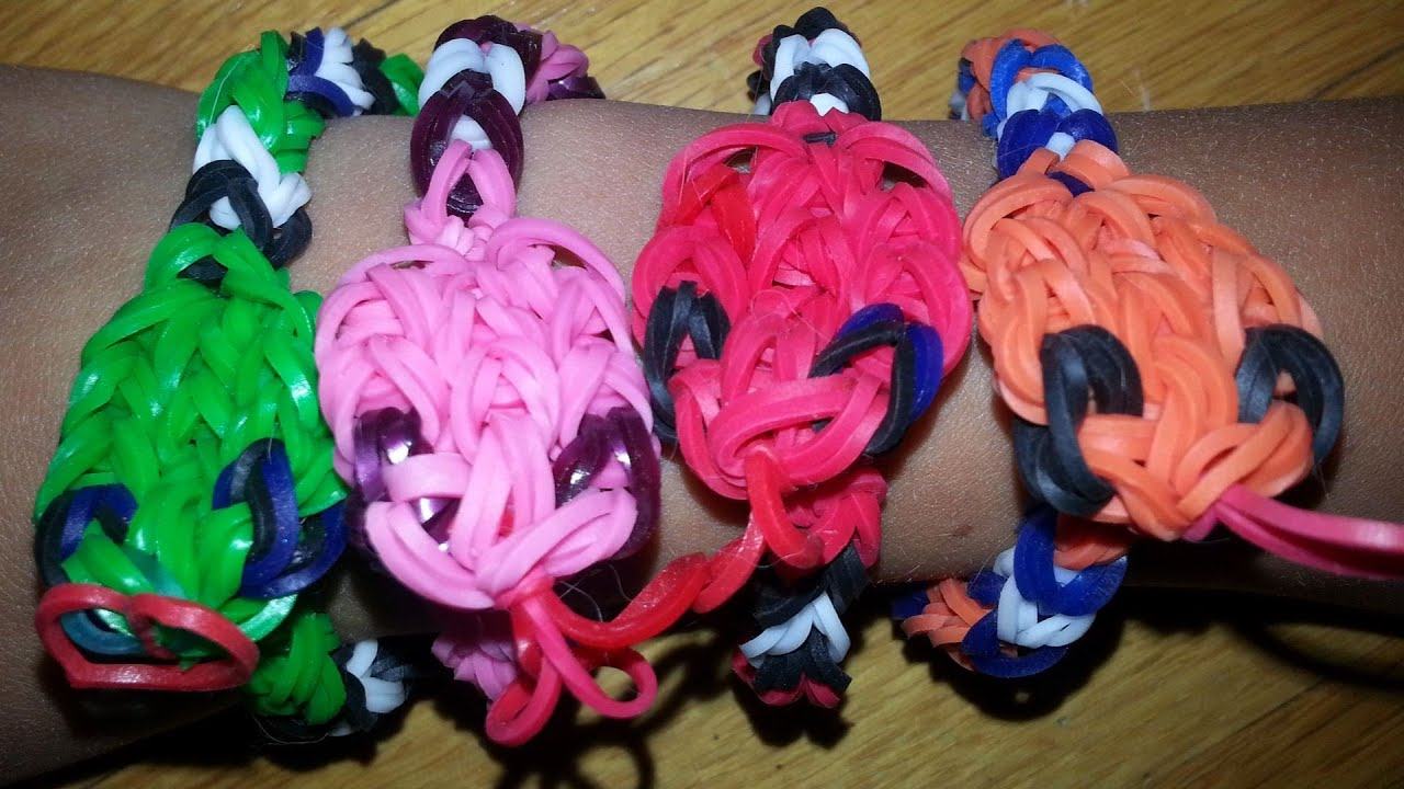 how to make rainbow loom bracelets youtube