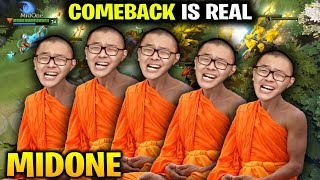 MIDONE COMEBACK IS REAL with His Illusion Army