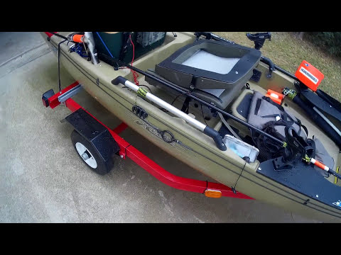 Hobie Pro Angler 14 Modifications:  Part 2