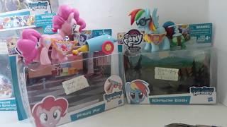 Bộ đồ chơi My Little Pony : Guardians of Harmony - Vệ Binh của Sự Hài Hòa - Rainbow và Pinkie