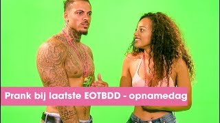 EX ON THE BEACH DOUBLE DUTCH PRANK bij laatste opnamedag | #8