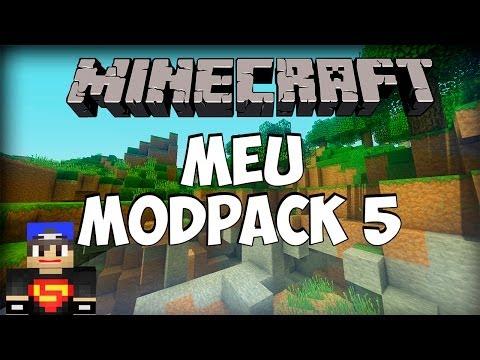 MINECRAFT 1.5.2: Meu Modpack 5 - 83 Mods