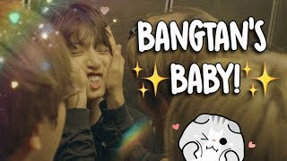 jungkook being bangtan's baby
